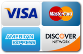 Azer Appliance | Credit cards